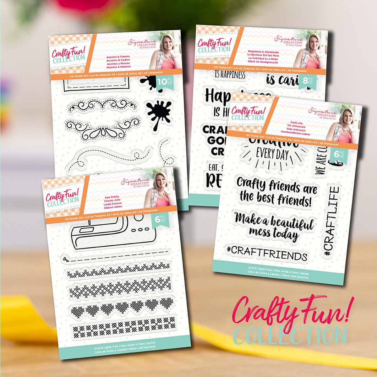 Crafters Companion Crafty Fun Stamp Collection