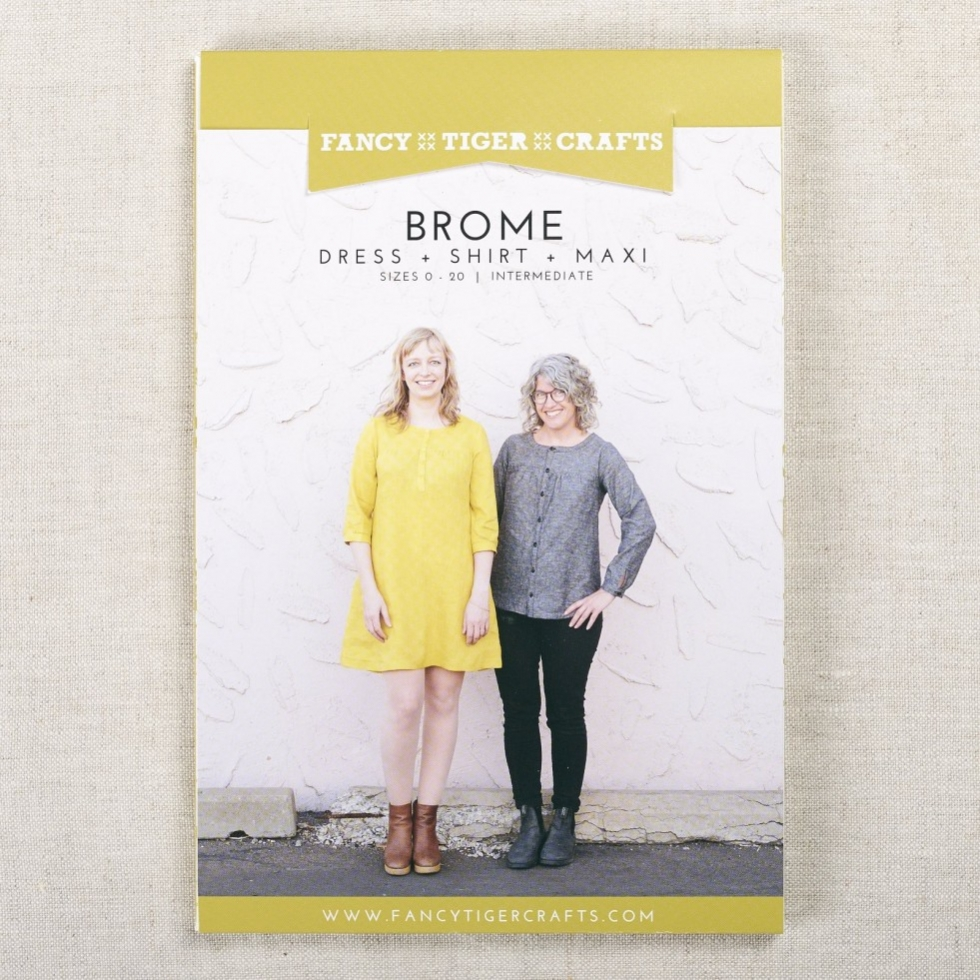 Fancy Tiger Crafts Sewing Pattern Brome Dress & Top