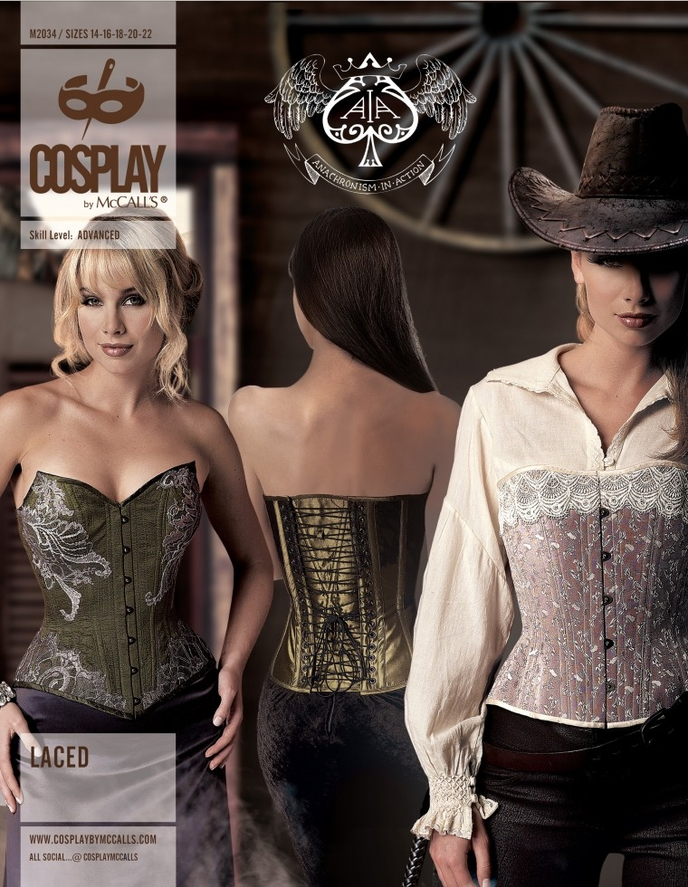 McCalls Cosplay Sewing Pattern 2034