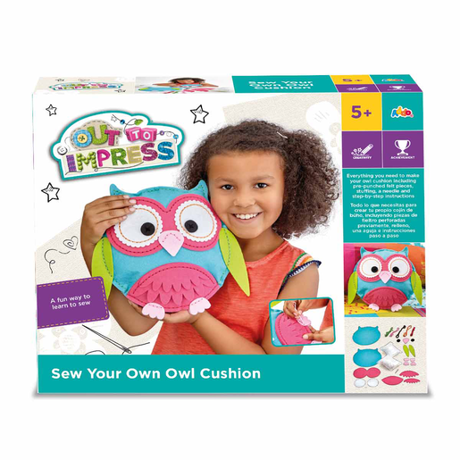 Out To Impress Sew Your Own Owl Cushion