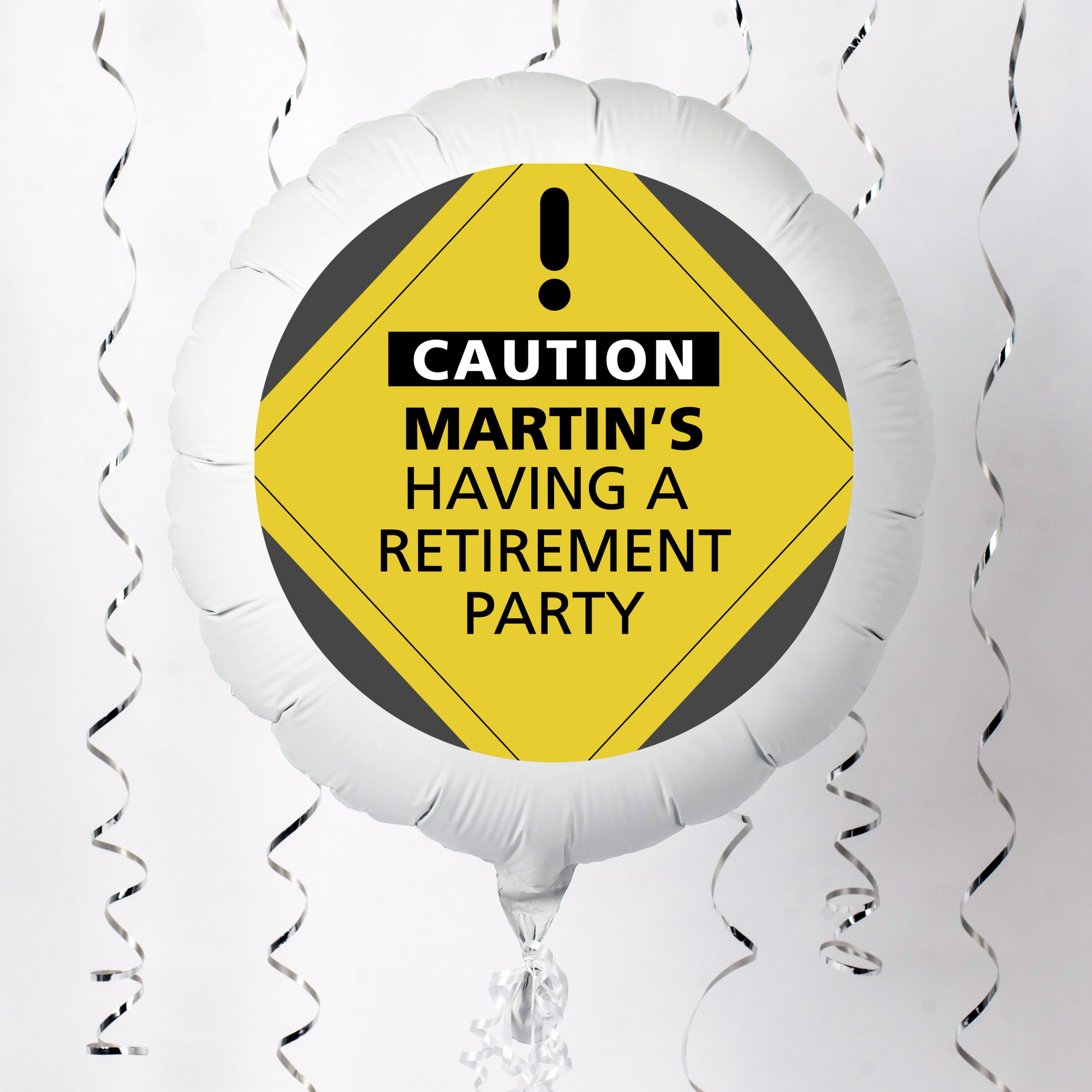 Personalised Large Helium Balloon - Retirement Party