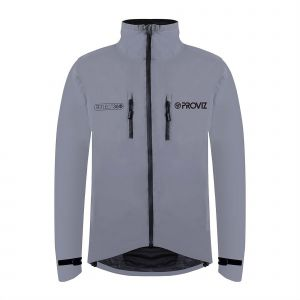 Proviz Reflect360 Cycling Jacket, Silver
