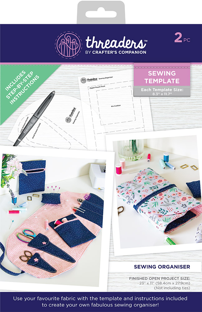 Threaders Template - Sewing Organiser (dispatching from 10th December)