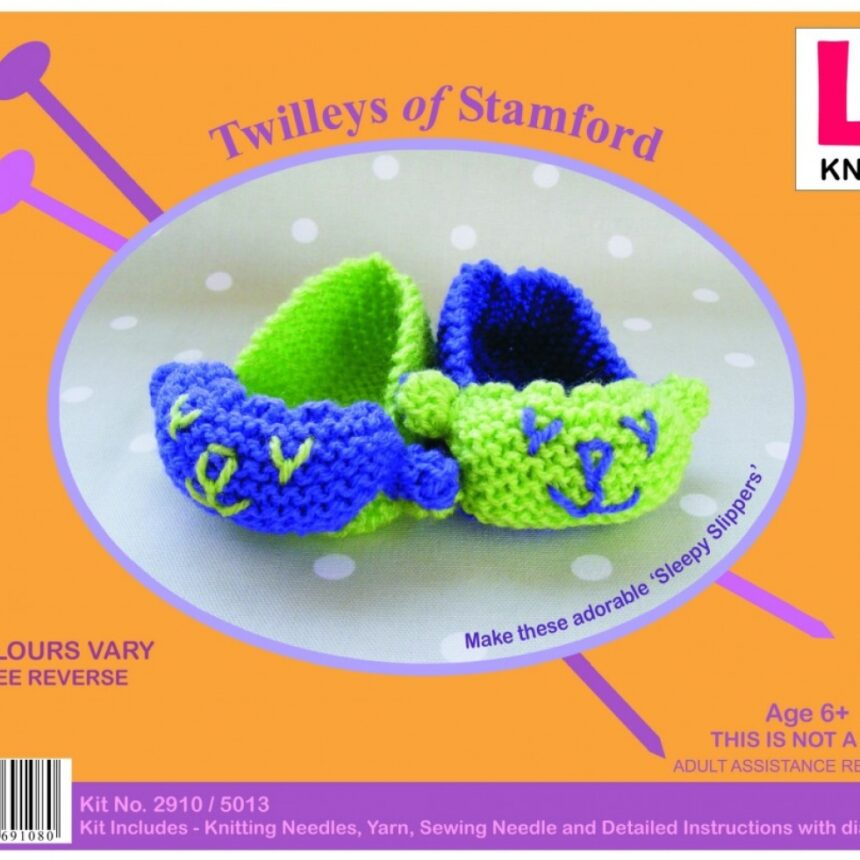 Twilleys of Stamford Learn To Knit Kit