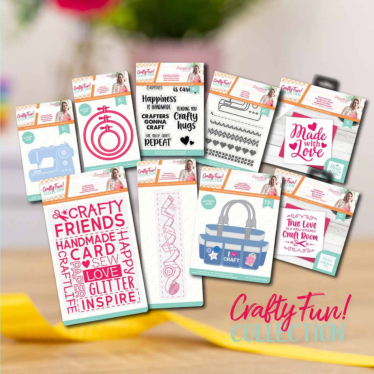 Crafters Companion Crafty Fun Sewing Design Collection