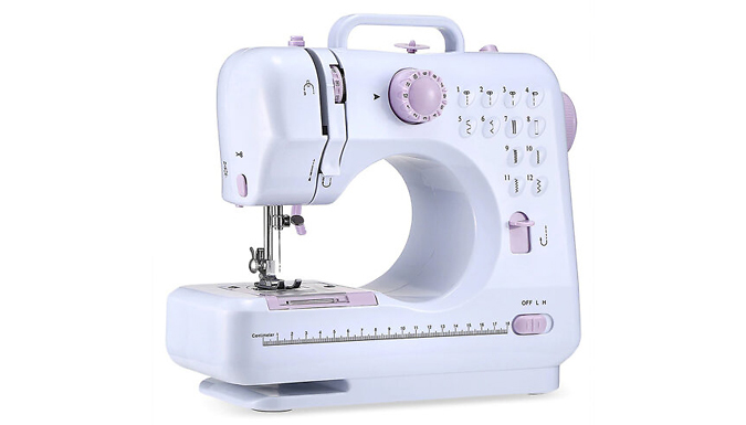 Electric 2-Speed Sewing Machine with Foot Pedal