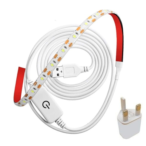LED Light Bar 2835 5V Waterproof Portable Bright Adhesive Tape Lights Strips Lights Multipurpose Lighting Tools Easy to Install Quick for Sewing Machine Dask