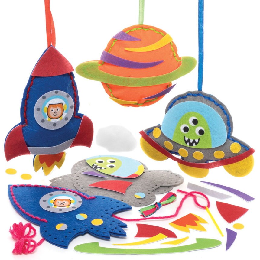 Solar System Sewing Kits (Pack of 3)